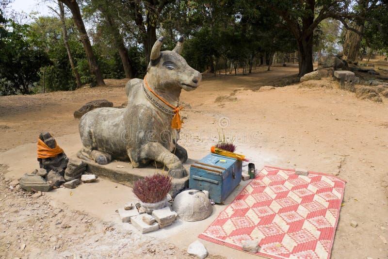 bakheng προσευχή προσφορών της &Ka στοκ φωτογραφία με δικαίωμα ελεύθερης χρήσης
