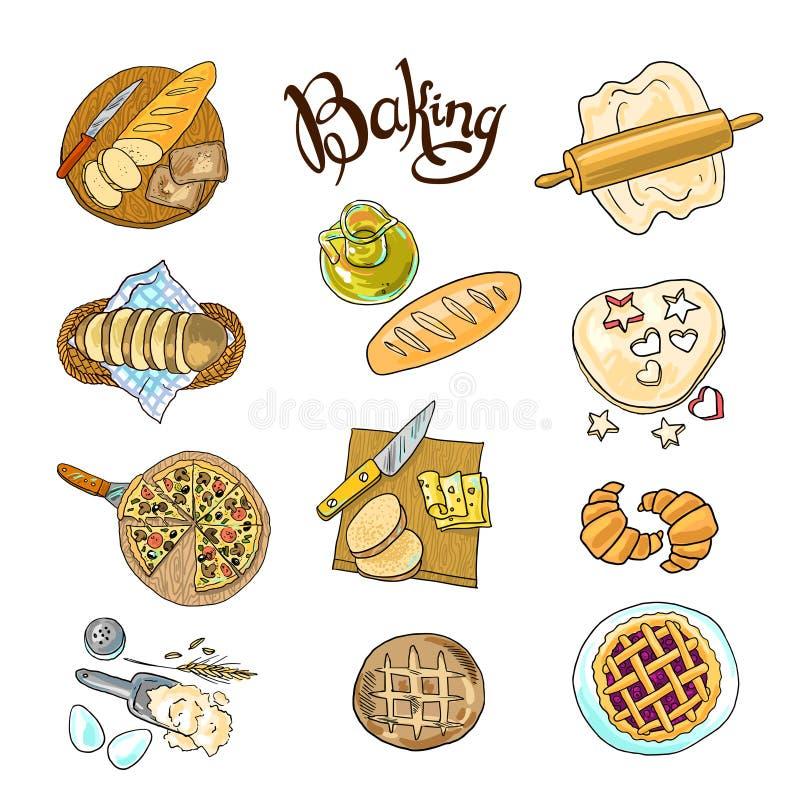 baking ilustração royalty free