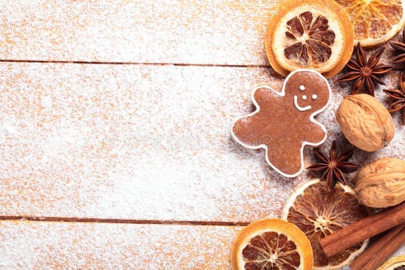 Baking Background Stock Photo Image Of Space Powdered
