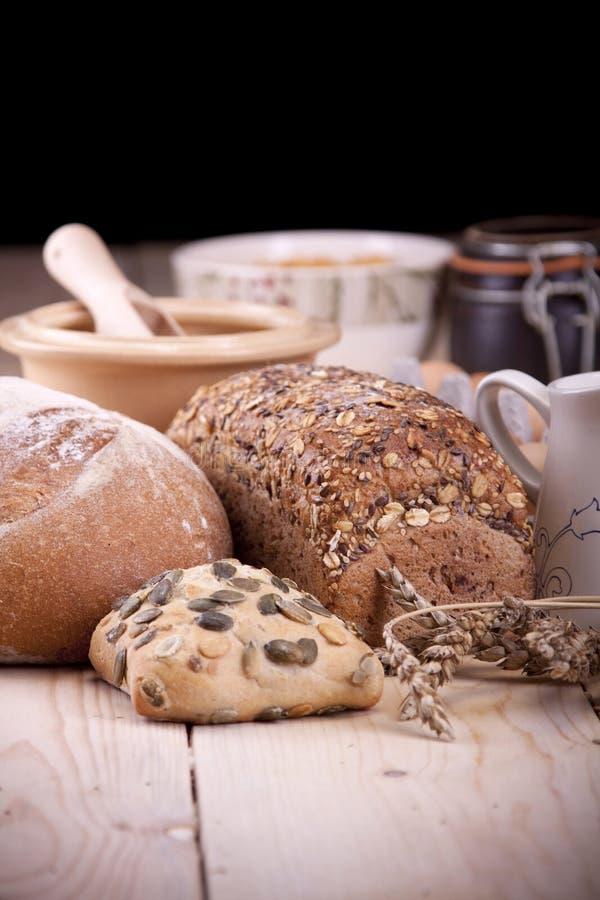 Baking bread! stock photography