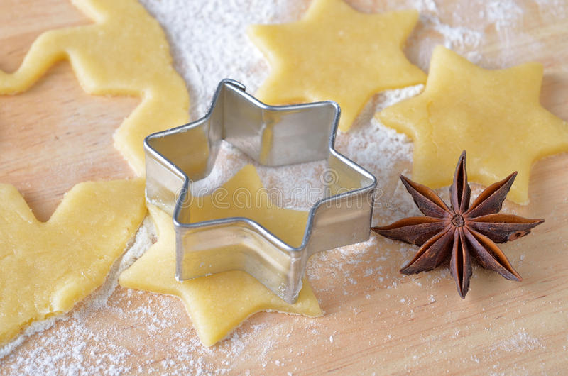 Download Baking Christmas Biscuits Royalty Free Stock Photography - Image: 21123727