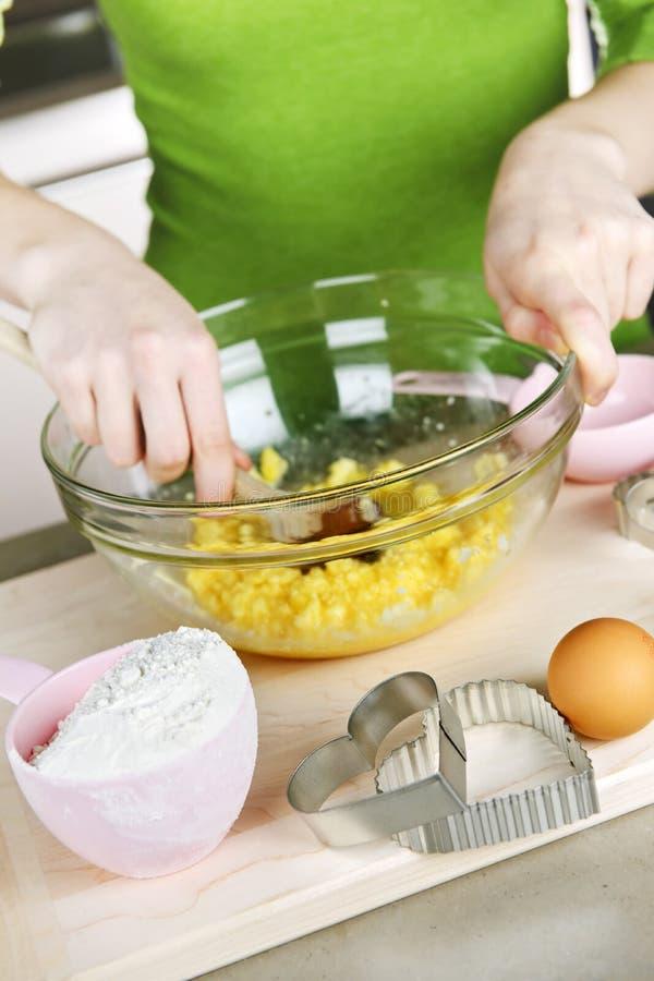 Download Baking Cookies Royalty Free Stock Photos - Image: 12977888