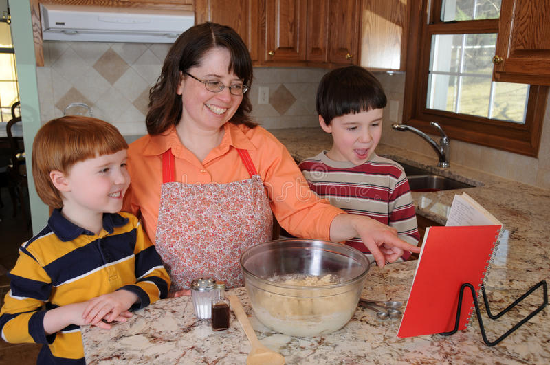 Baking Cookies royalty free stock photography