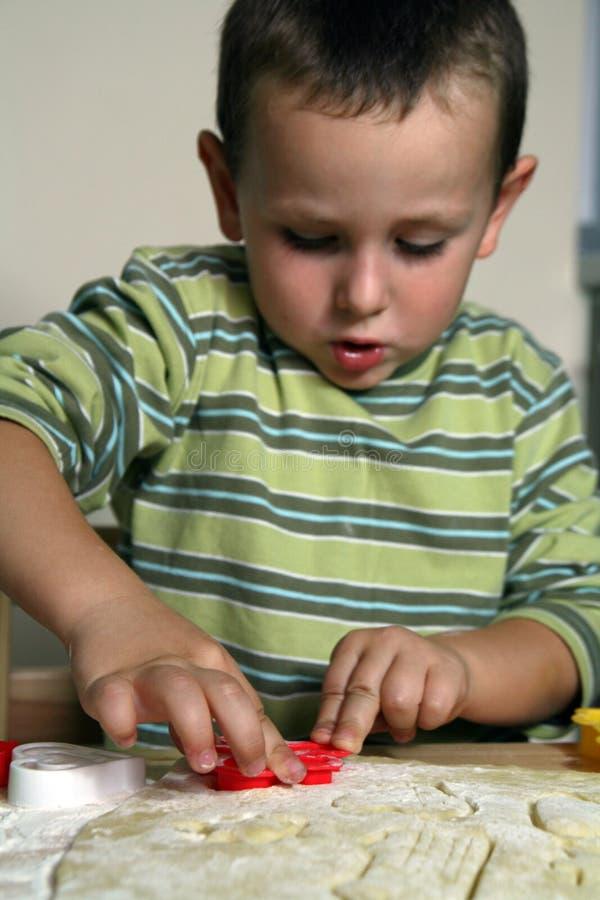 Download Baking cookies stock image. Image of enjoy, adorable, child - 3262769
