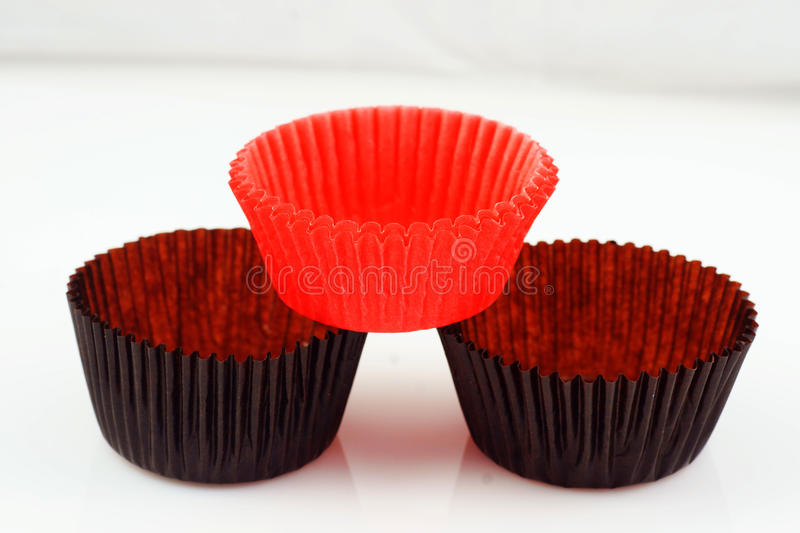 Baking Cup Cakes Royalty Free Stock Photo