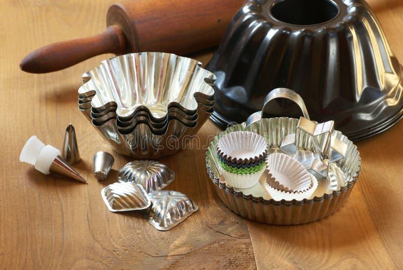 Baking equipment royalty free stock photography