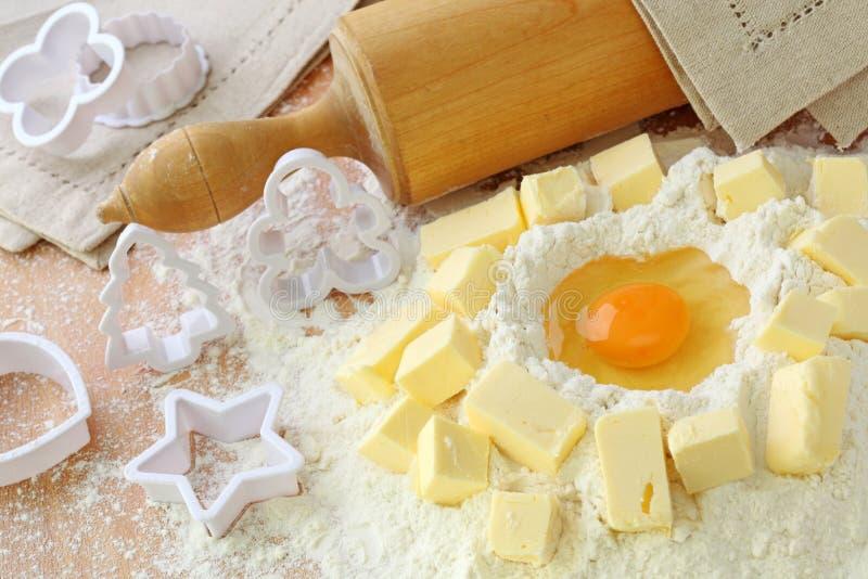 Download Baking ingredients stock image. Image of cutting, ingredients - 16118743