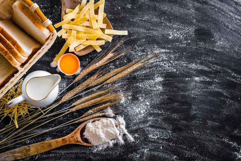 Baking products royalty free stock images