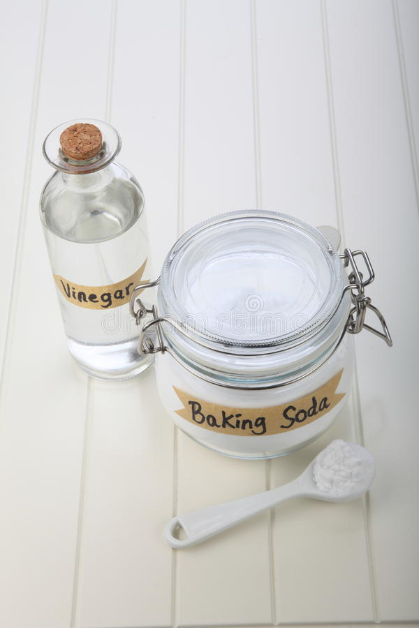 Baking soda royalty free stock images