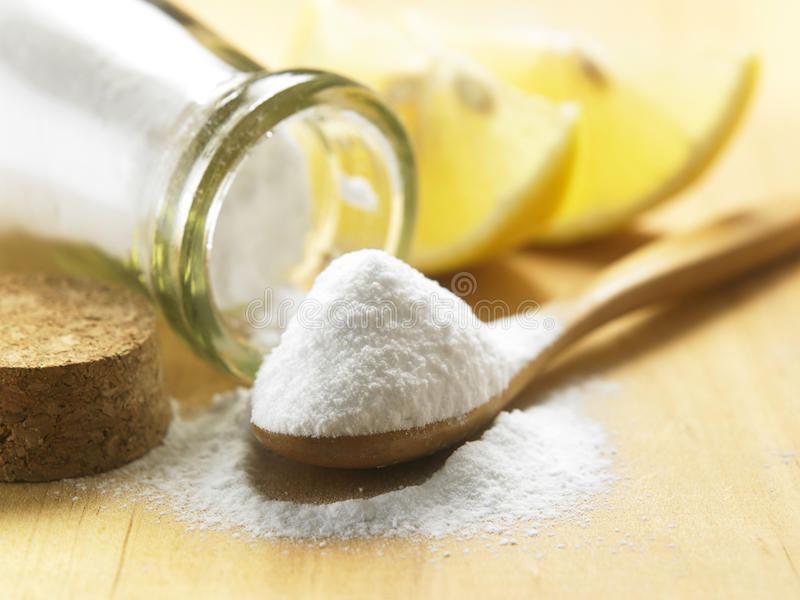 Baking soda stock images