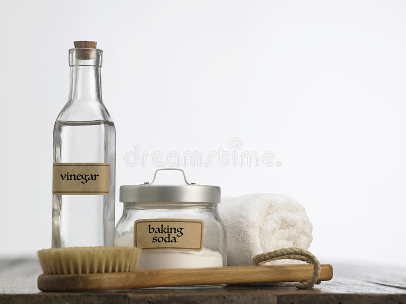 Baking soda stock image