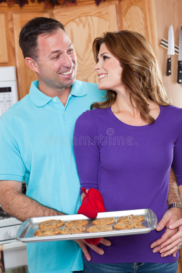 Baking woman stock photography