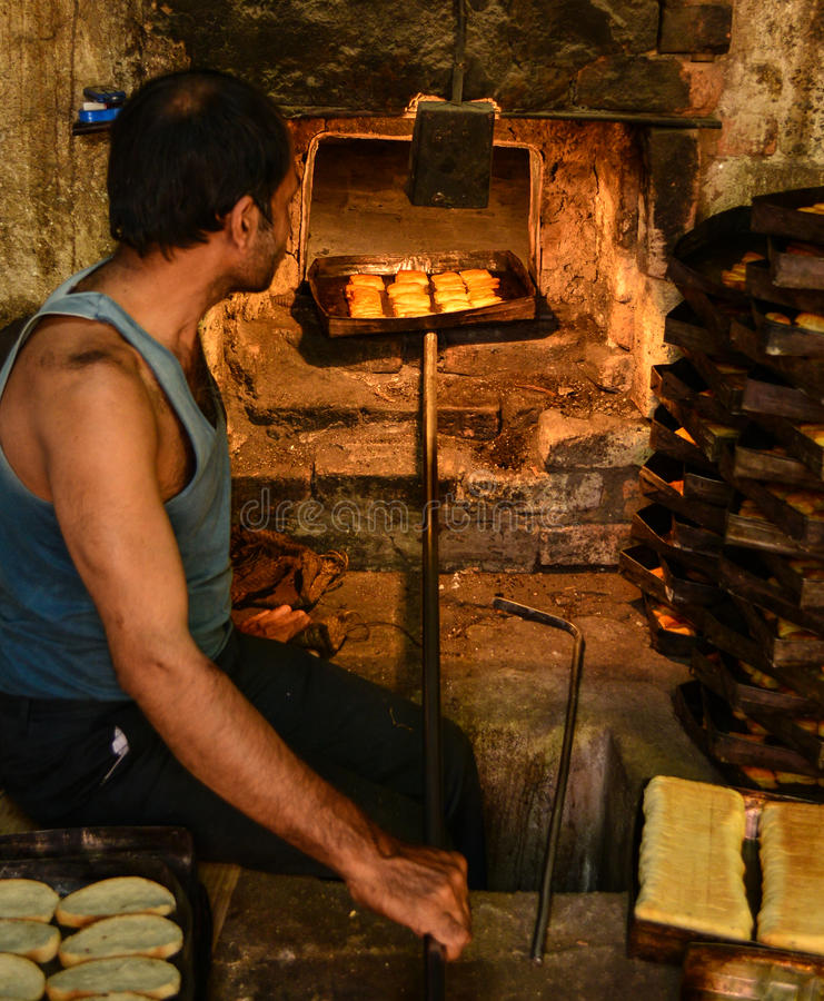 Bakkerij in platteland