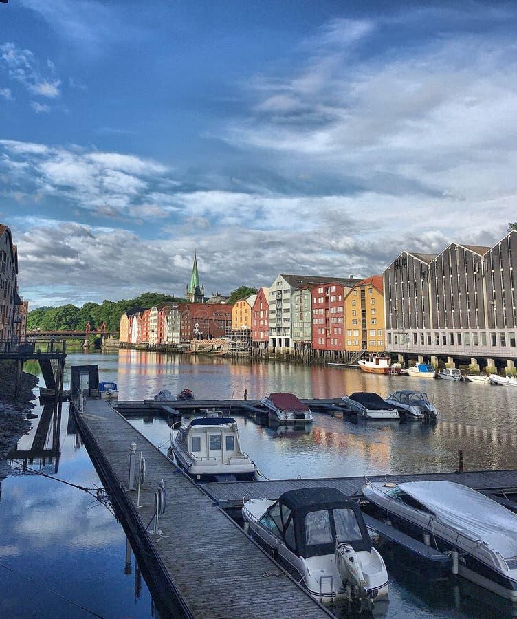 Bakklandet fotografia stock libera da diritti
