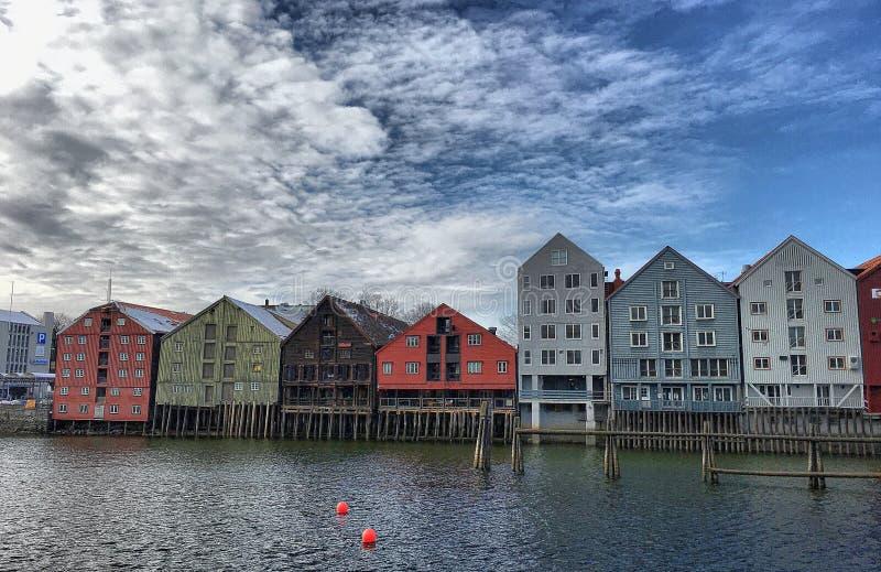 Bakklandet immagine stock