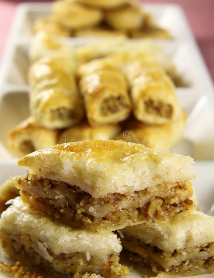 Baklava photo stock
