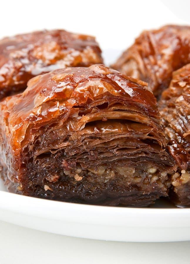 Download Baklava stock photo. Image of brown, vertical, baklava - 22002552