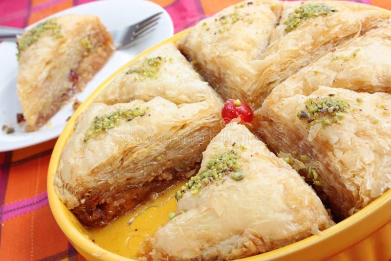 Download Baklava stock photo. Image of east, pastry, cuisine, dessert - 22477454