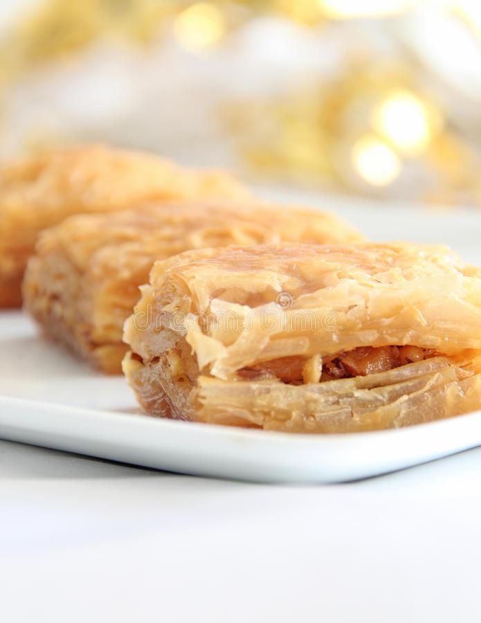 Free Baklava Royalty Free Stock Photography - 44973507
