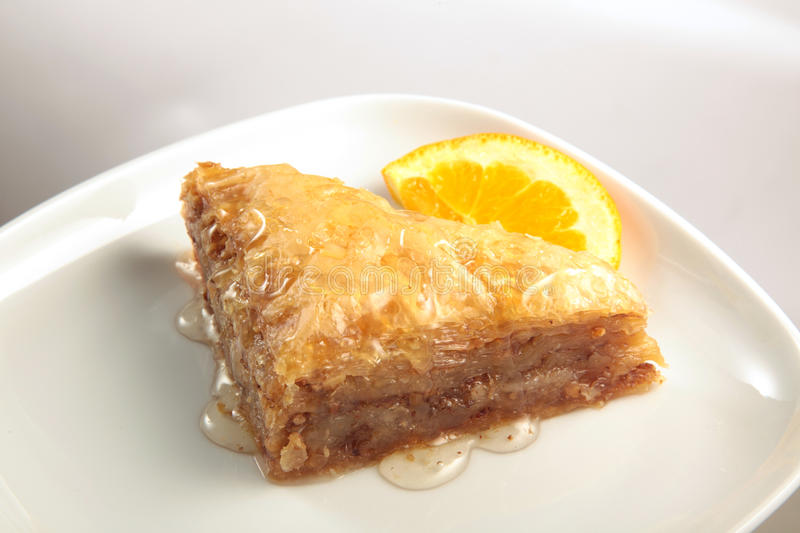 Baklava. photos stock
