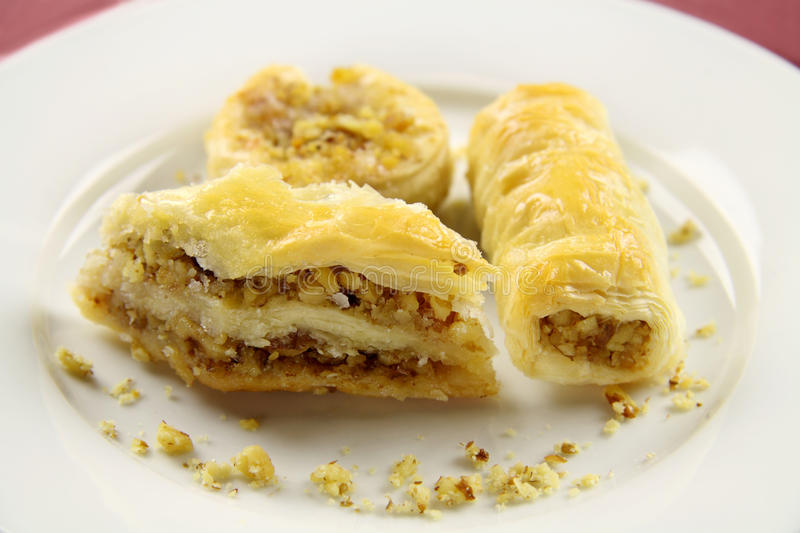 Baklava Assorted fotos de stock