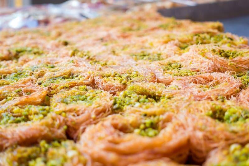 Baklava de pistache photo stock