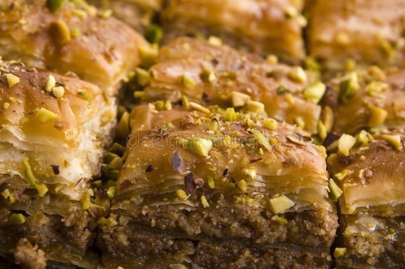 Baklava - deserto dolce tradizionale immagine stock libera da diritti