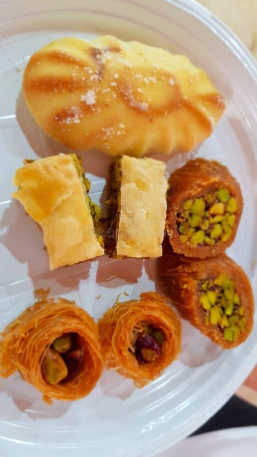 Baklava i inni Libańscy cukierki lebanon zdjęcie royalty free
