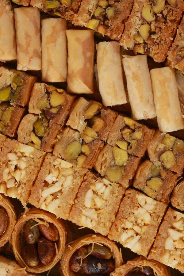 Download Baklava pastry stock photo. Image of baklava, topview - 26776544