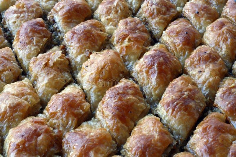 Baklava turco da sobremesa imagem de stock royalty free