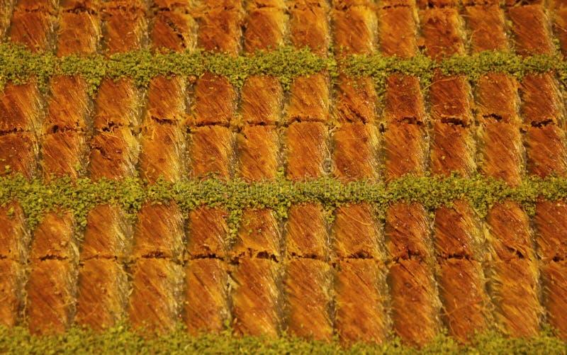 Baklava turco tradizionale immagini stock