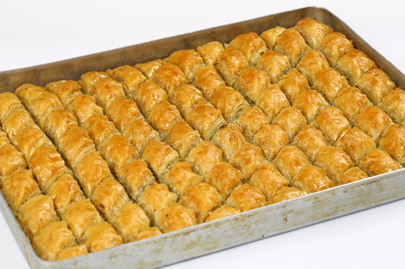 Baklava. Turkish baklava,also well known in middle east ,close up. Baklava most famous turkish dessert also most known at the foreign countries of turkey royalty free stock photos