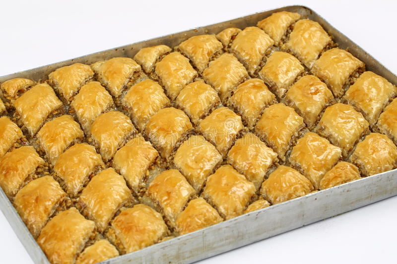 Baklava. Turkish baklava,also well known in middle east ,close up. Baklava most famous turkish dessert also most known at the foreign countries of turkey royalty free stock image