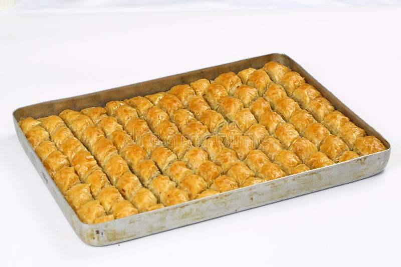 Baklava. Turkish baklava,also well known in middle east ,close up. Baklava most famous turkish dessert also most known at the foreign countries of turkey royalty free stock photo