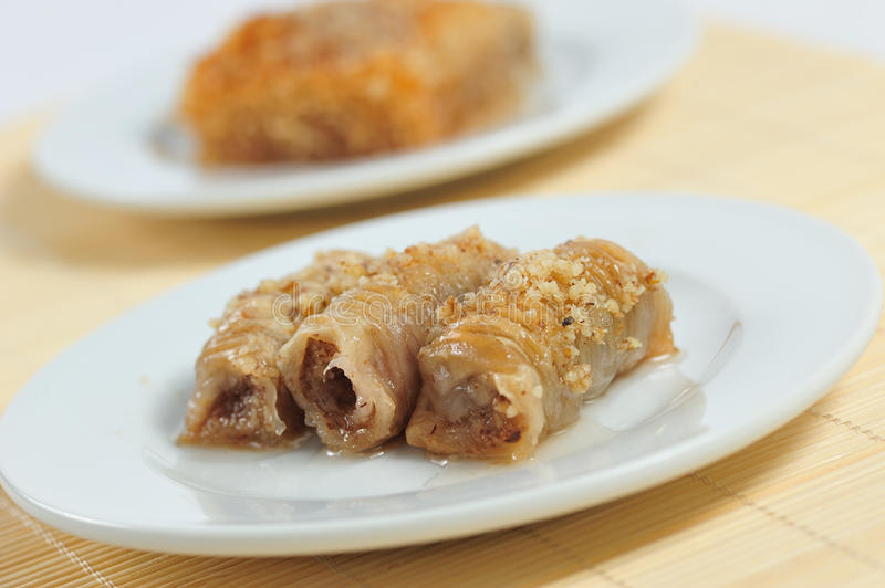 Download Baklava stock image. Image of tasty, calories, nuts, sweet - 20812207