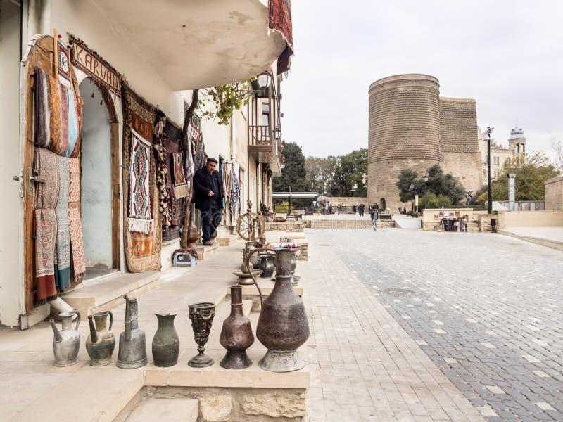 Bakou photographie stock libre de droits