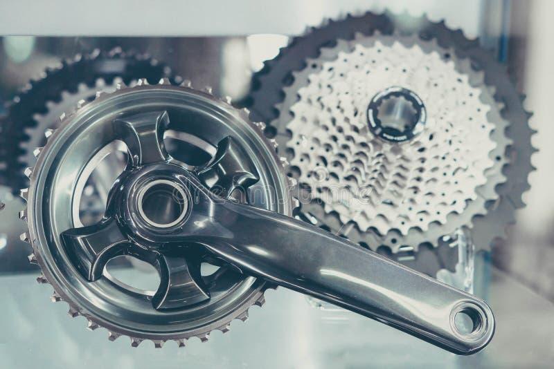 Bakre kassett för cykel royaltyfri fotografi