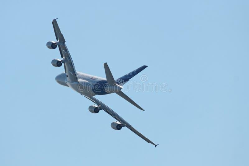 Bakre Sikt A380 Redaktionell Arkivbild