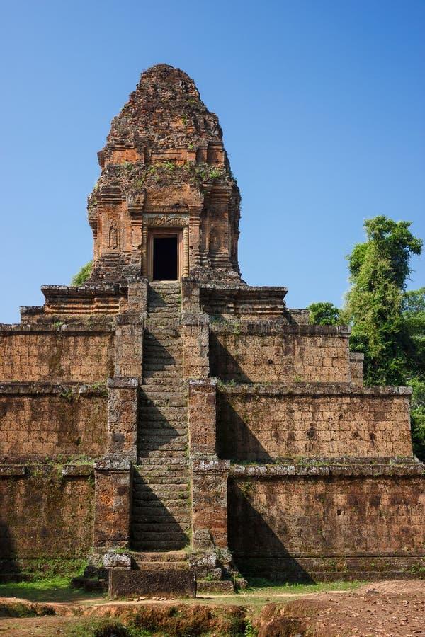 Baksei Chamkrong寺庙 免版税库存图片