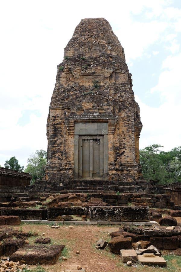 Baksei Chamkrong寺庙 免版税库存照片