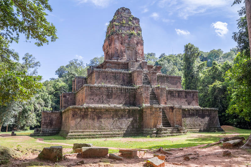Baksei Chamkrong temple in the Angkor Wat historical complex royalty free stock photography