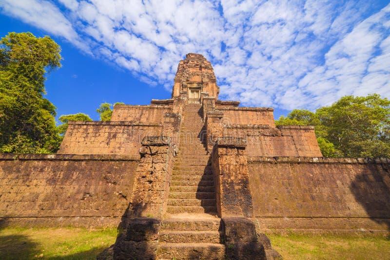 Baksei Chamkrong, 10th century Hindu temple, part of Angkor Wat royalty free stock image