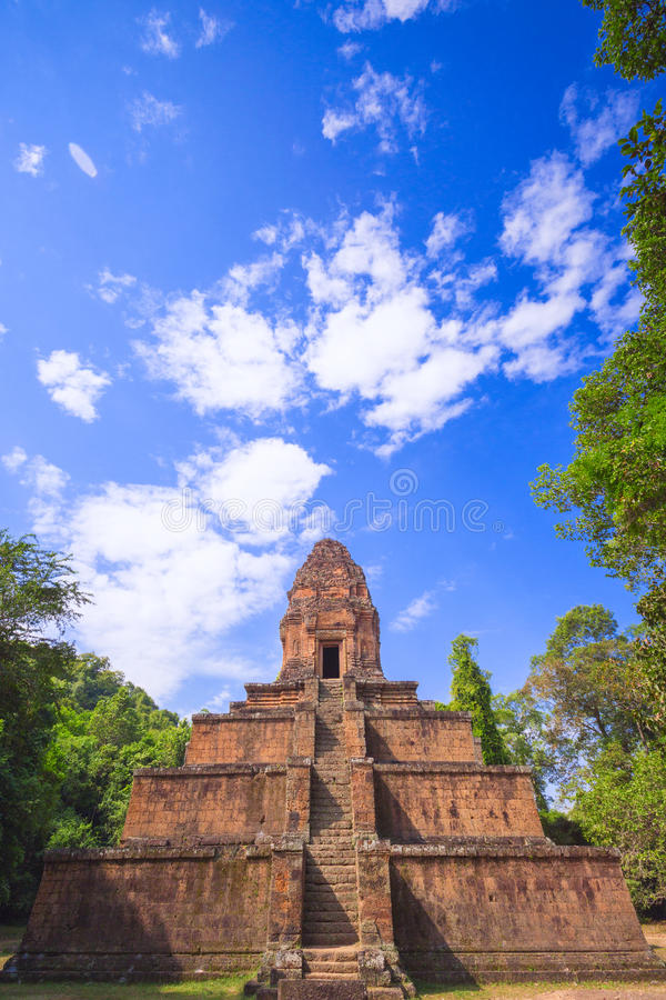 Baksei Chamkrong, 10th century Hindu temple, part of Angkor Wat stock photography