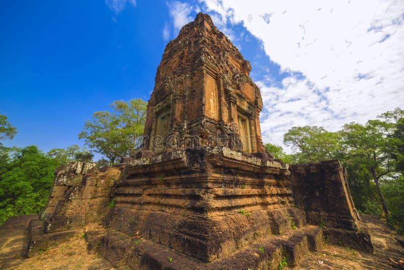 Baksei Chamkrong, 10th century Hindu temple, part of Angkor Wat stock photo