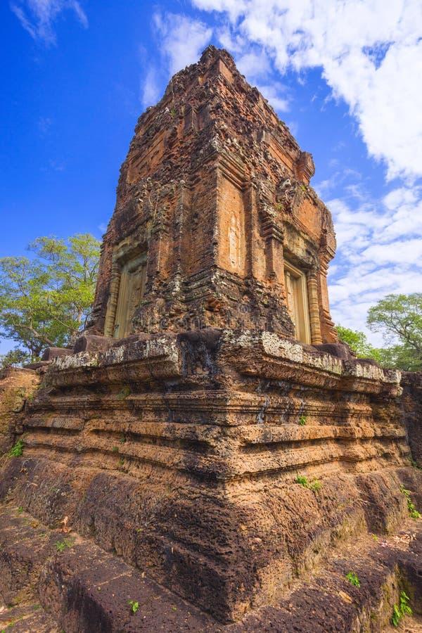 Baksei Chamkrong, 10th century Hindu temple, part of Angkor Wat stock image