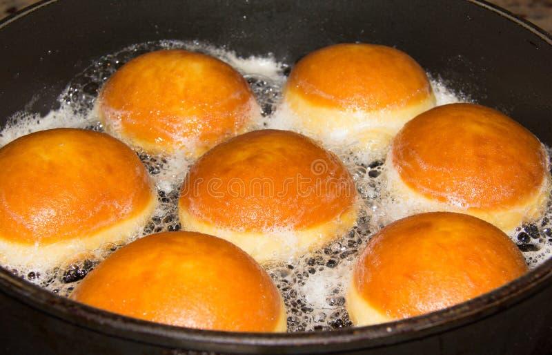 Download Baksel Donuts in een Pan stock afbeelding. Afbeelding bestaande uit origineel - 39105917
