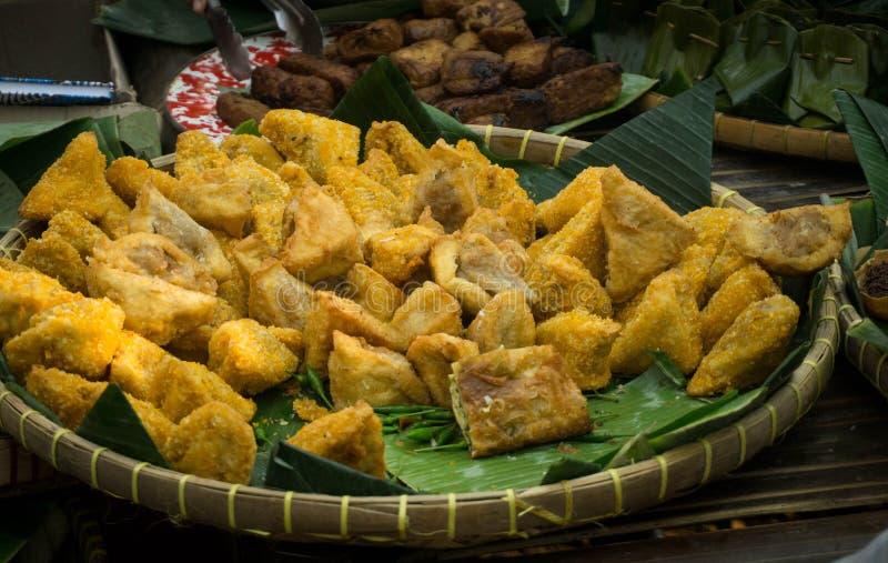 Bakso tahu традиционной индонезийской еды азиатское кулинарное стоковые фото