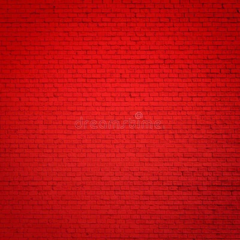 Baksteen rode muur stock fotografie