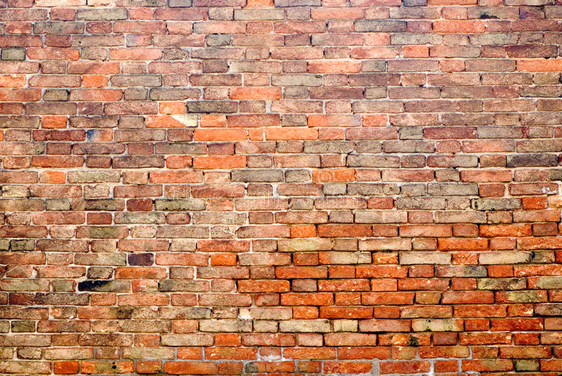 Bakstenen muur 5 royalty-vrije stock foto