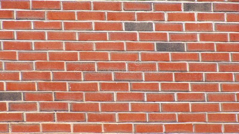 Bakstenen muur Achtergrondbehangtextuur royalty-vrije stock afbeelding